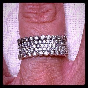 Authentic Pandora Lavish Sparkle Ring